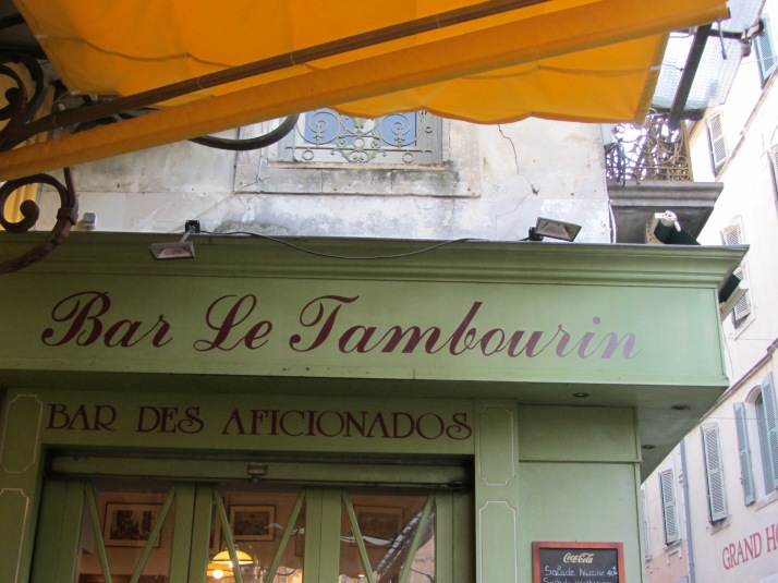 Bar Le Tambourin (Place du Forum) Foto: Bárbara