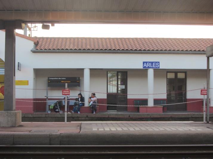 La Gare d'Arles. foto: Bárbara.