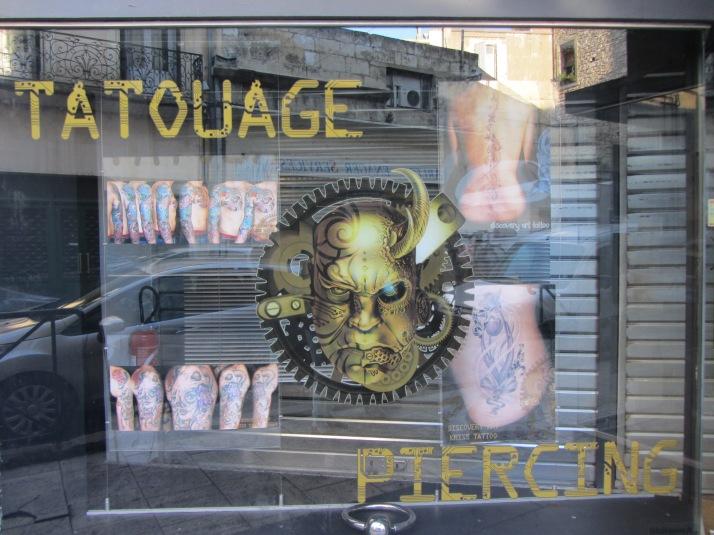 Tatuaje. Foto: Bárbara