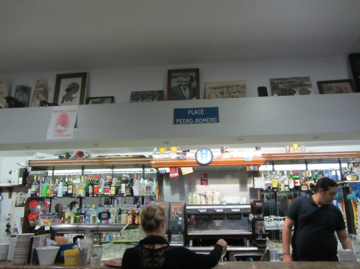 "Interior del bar ""Casa Romero"". Foto: Bárbara"