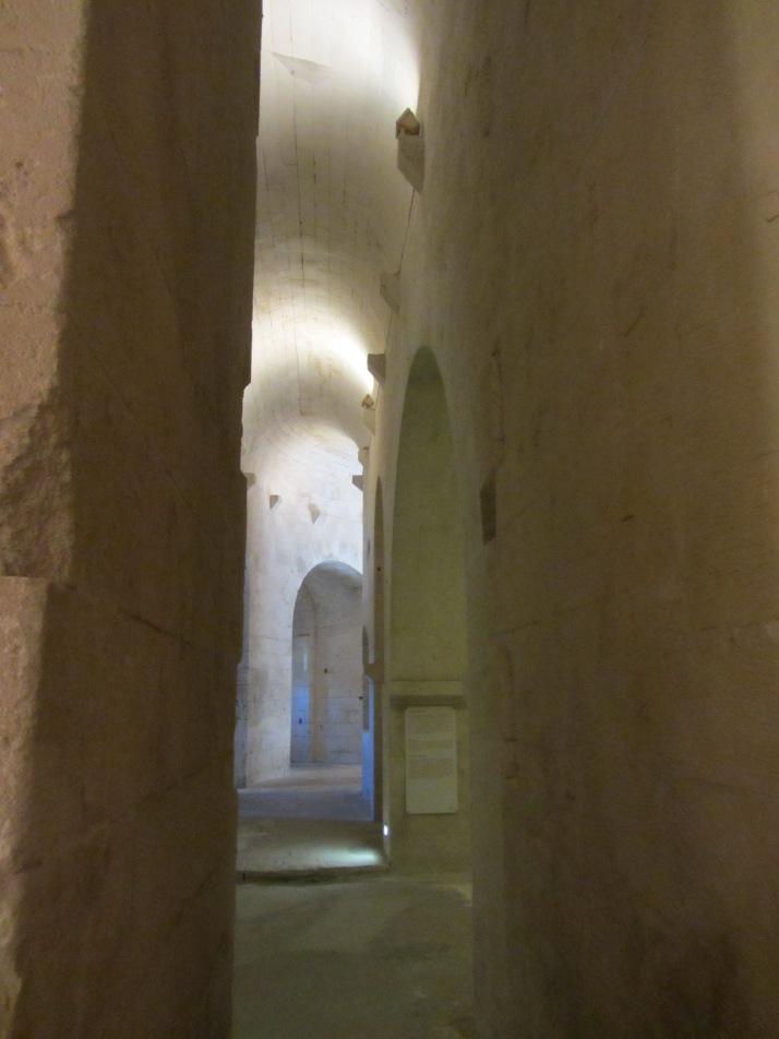 Planta baja de la Abadía de Montmajour. Foto: Bárbara