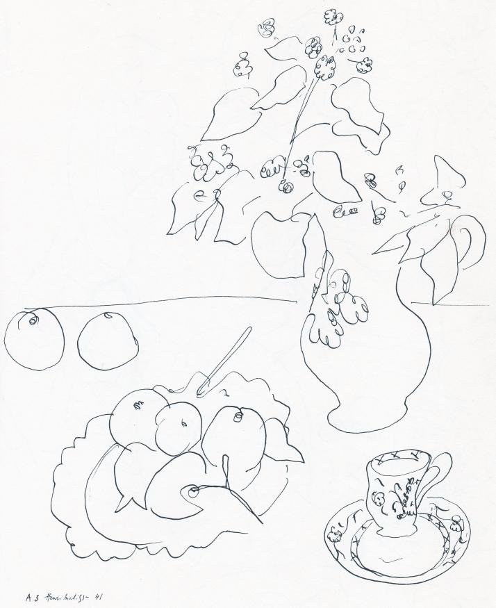 Dibujo de Matisse.
