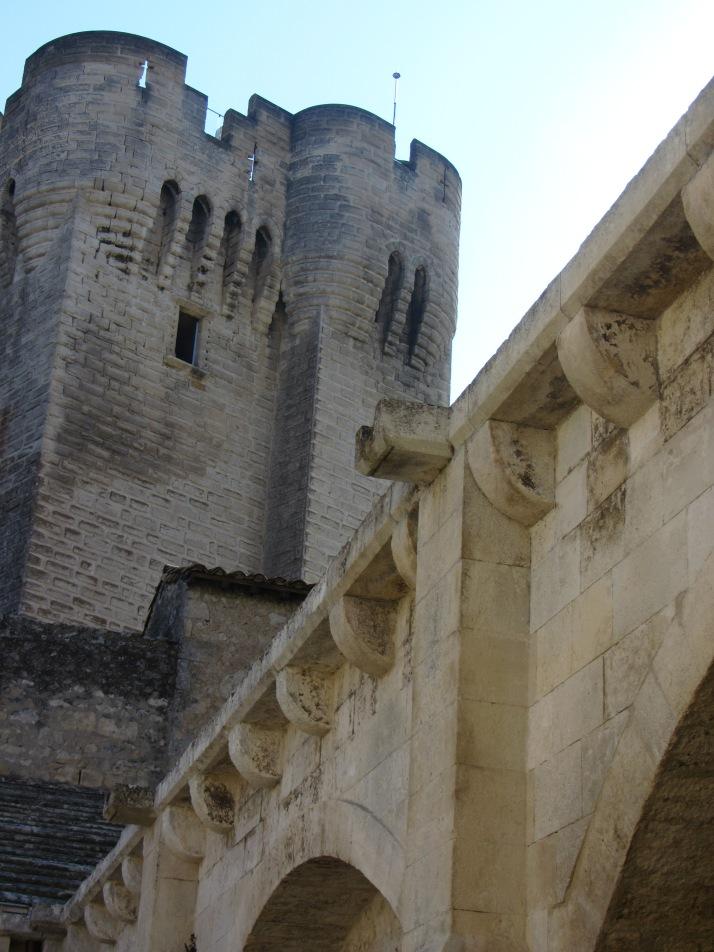 Torre vigía, abadia se Montmajour. Foto: Bárbara