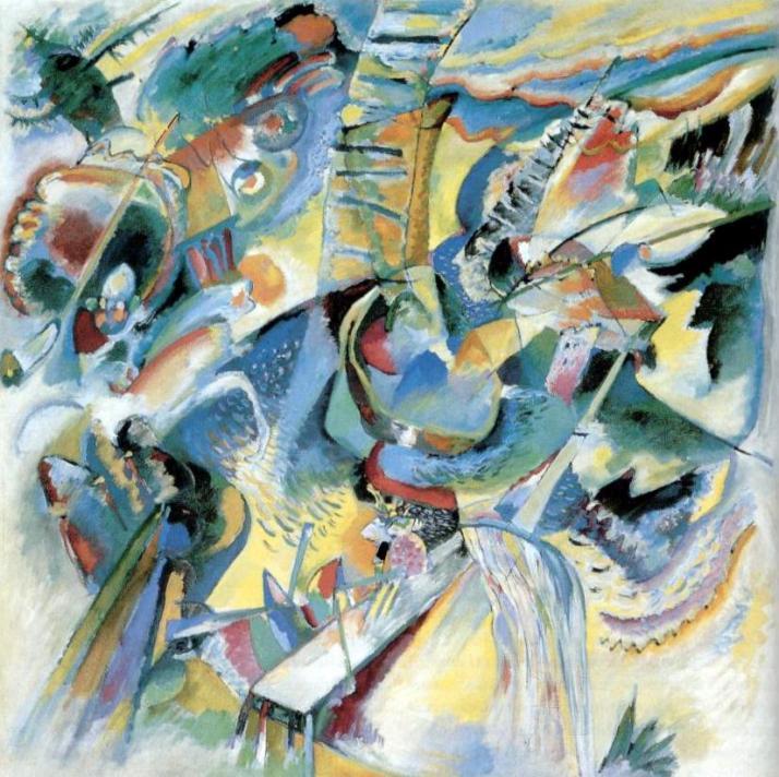 """Kandinsky: """"Improvisación Barranco. 1914"""""""