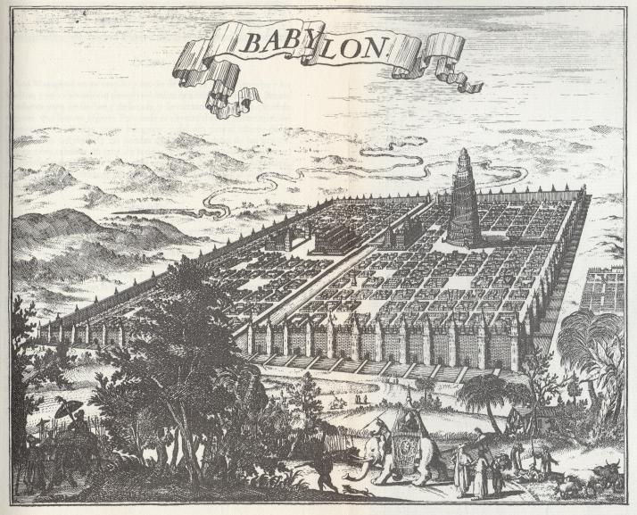 Ilustración desplegable del primer tomo.