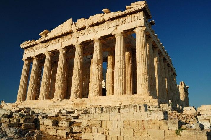 El Partenón.