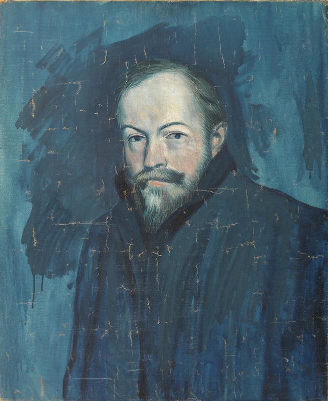 Picasso: retrato de Sebastián Juyent. Museo Picasso de Barcelona
