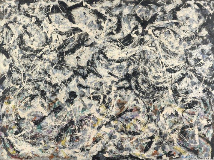 "J. Pollok: ""Greyed Rainbow"". 1953."