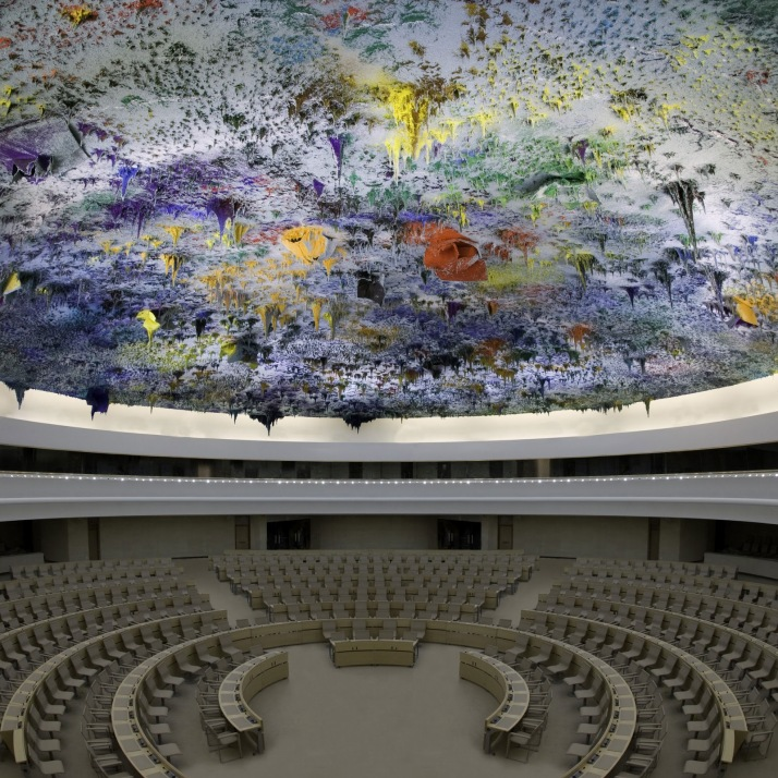 Miquel Barceló, Cúpula de la ONU