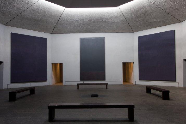 ala sur de la capilla de Rothko.