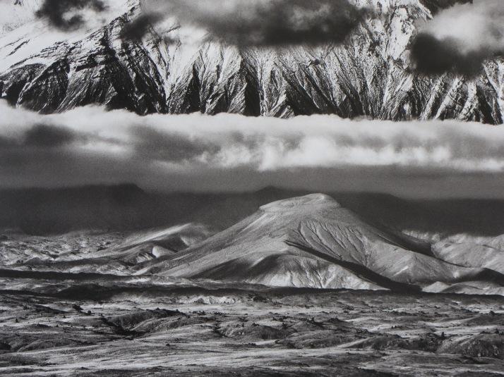 Sebastiao Salgado : Volcán Kamen, península de Kamchaka, Rusia. 2006.