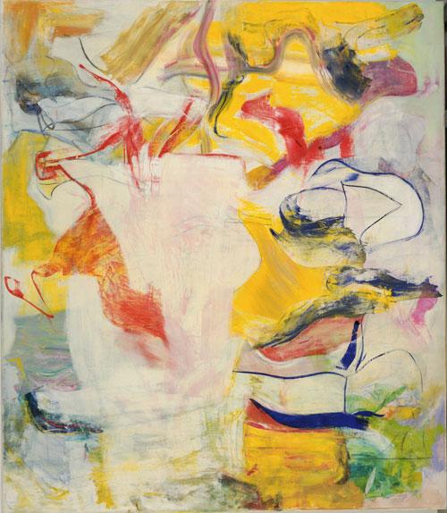 "Kooning: ""Pirate"". Óleo sobre tela, 223 x 194. MoMA."