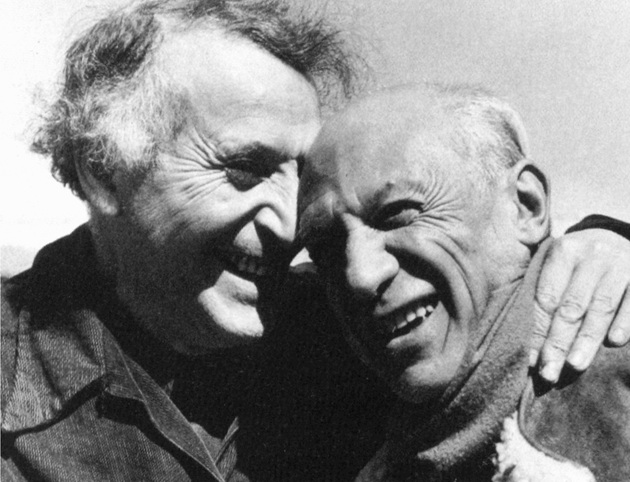 Marc Chagall y Picasso