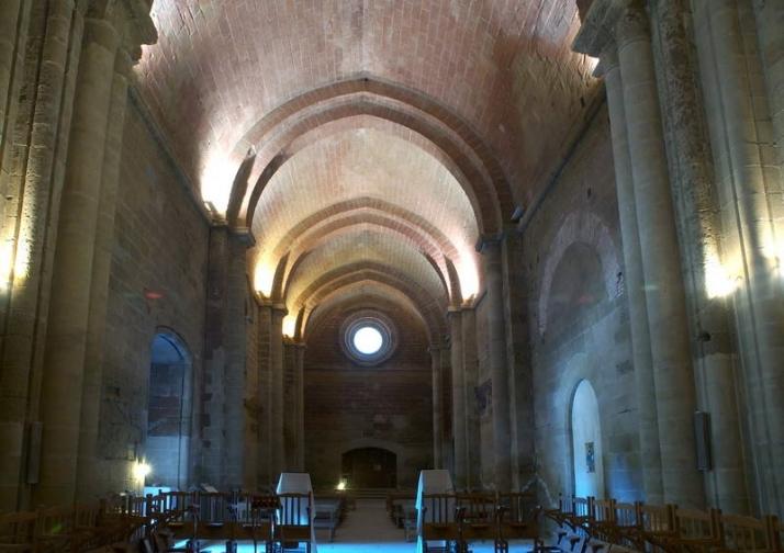 Brazo sur del transepto y abside que lo cierra hacia el Este