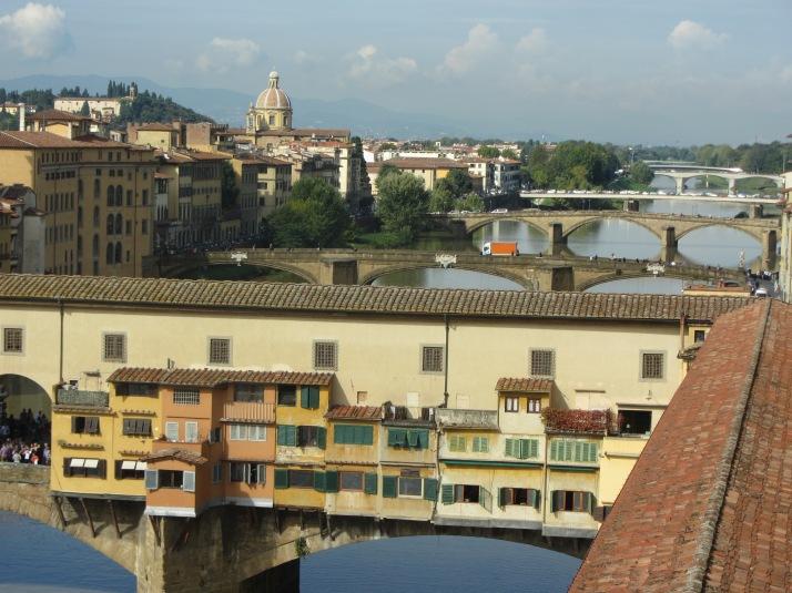 Ponte Vecchio (Florencia). Foto: Bárbara