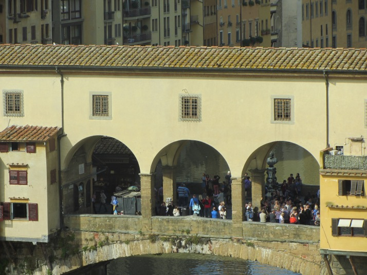 Ponte Vecchio (Florencia). Foto: Bárbara.