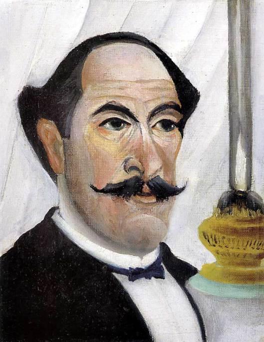"""Enri Rousseau :""""Autoretrato"""" . 1903. Óleo sobre lienzo. 23 x 19. Museo Picasso (París)"""
