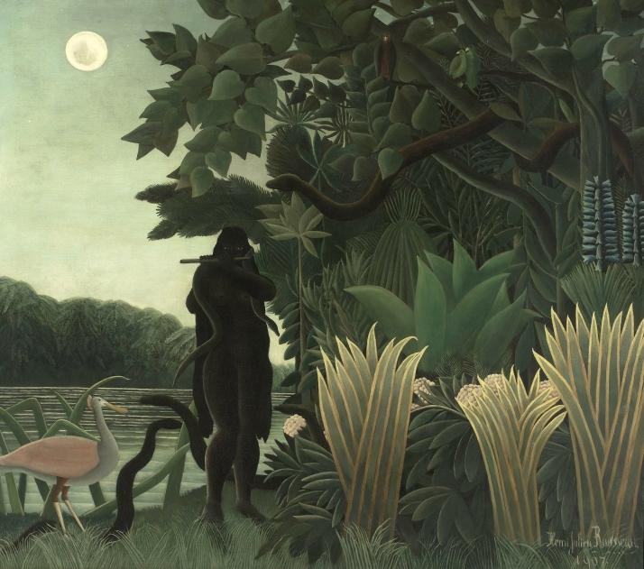 """Henri Rousseau: """"La encantadora de serpientes"""""""