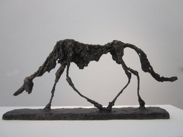 """Alberto Giacometti: """"Le Chien"""". 1951."""
