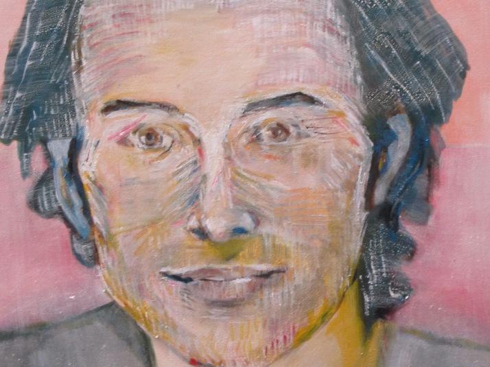 """Bárbara Carpi: """"Retrato de Aurelio"""". Detalle"""