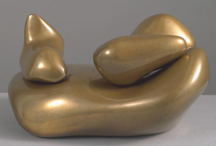 """Hans Arp:""""Escultura para ser perdido en el bosque"""". 1932, Tate Gallery"""