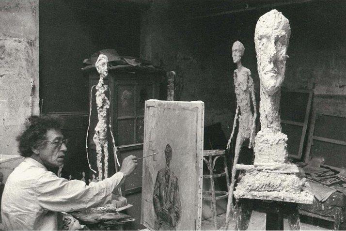 Giacometti en su taller