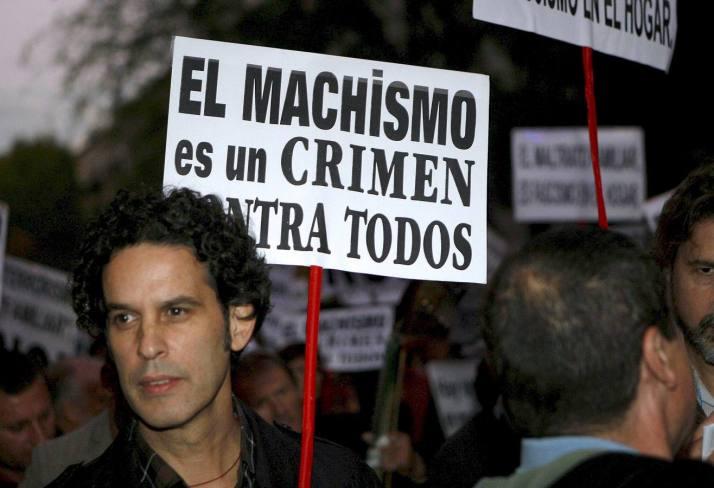 EFE. Víctor Lerena. Manifestación contra la vilencia de Género