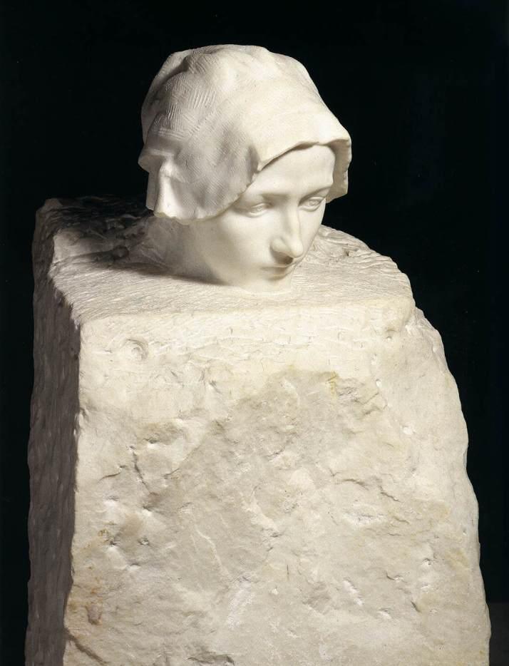 "Rodin: ""Retrato de Camille Claudel"".1886-89. Museo Rodin (París)"