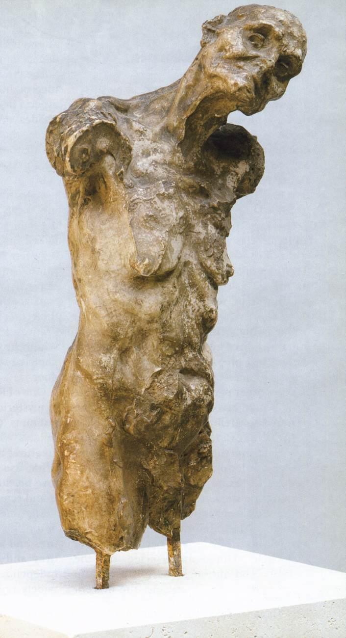 "Camille Claudel: ""Torso de Clotho. 1893. Museo Rodin."