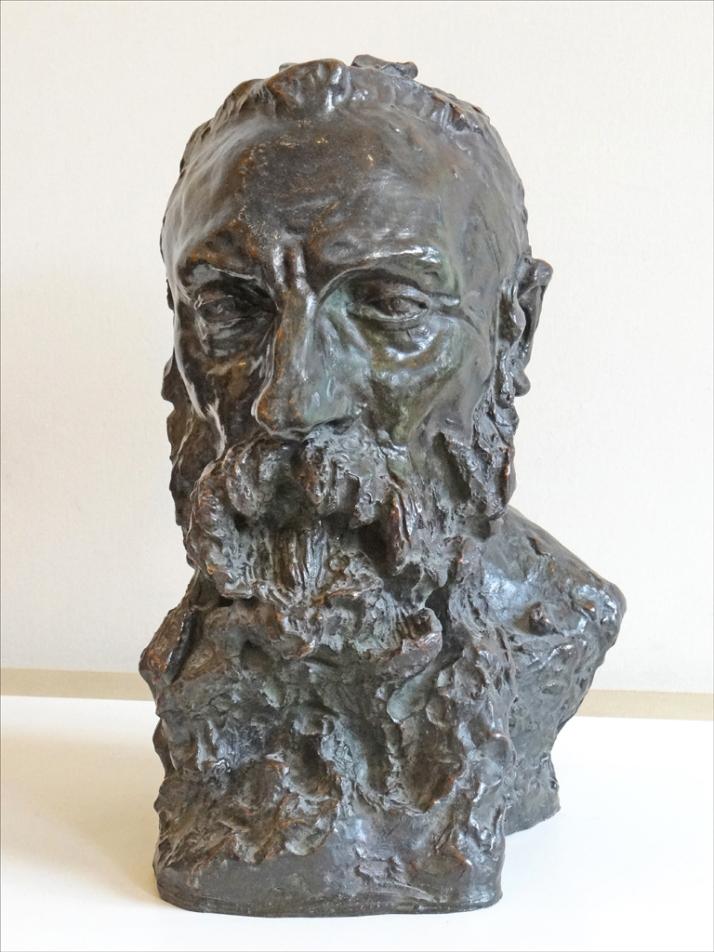 "Camille Claudel:"" A. Rodin"", retrato en bronce. 1892. Museo Rodin (París)"