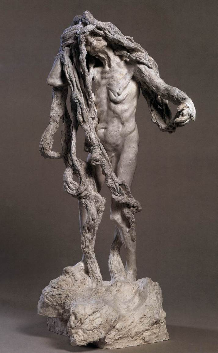 "Camille Claudel: ""Cltho"". 1893. Museo Rodin."