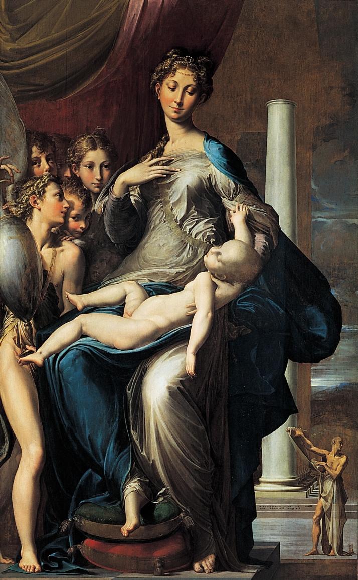 """Parmigianino: """"La Virgen del cuello largo"""""""