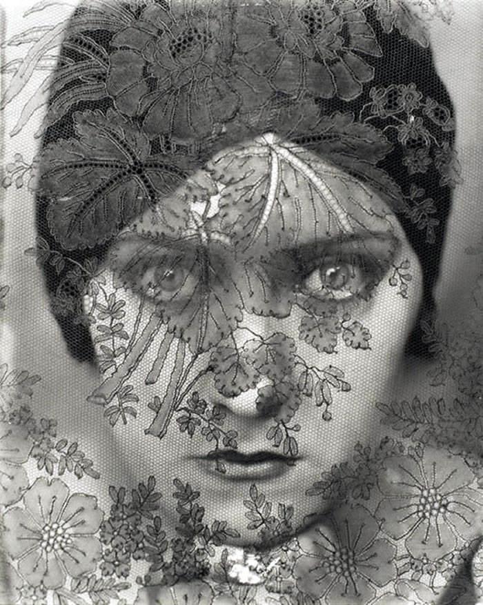 """Edward Steichen: """"Retrato de Gloria Swson"""" , 1924."""