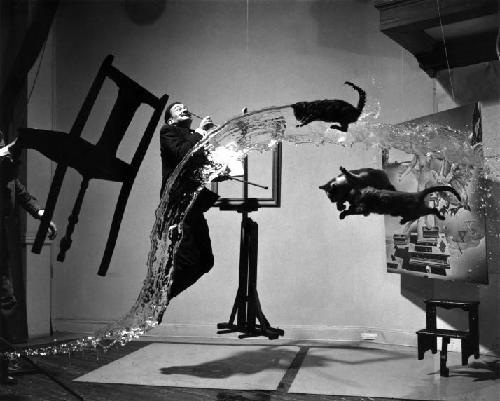 "Philippe Halsman: ""Dalí atómico"" 1948."