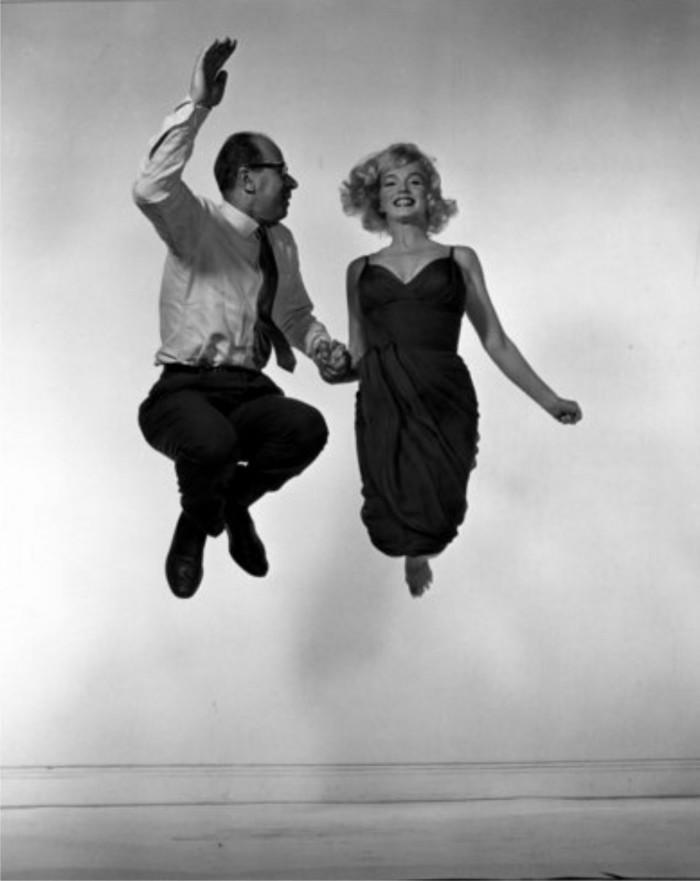 Philippe Halsman: Marilyn Monroe y Philippe Halsman