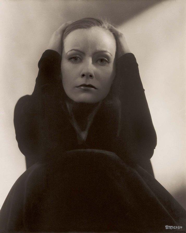 """Edward Steichen: """"Greta Garbo"""", 1928"""