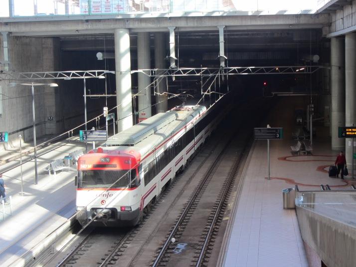 Estación de Castellón. Foto: Bárbara