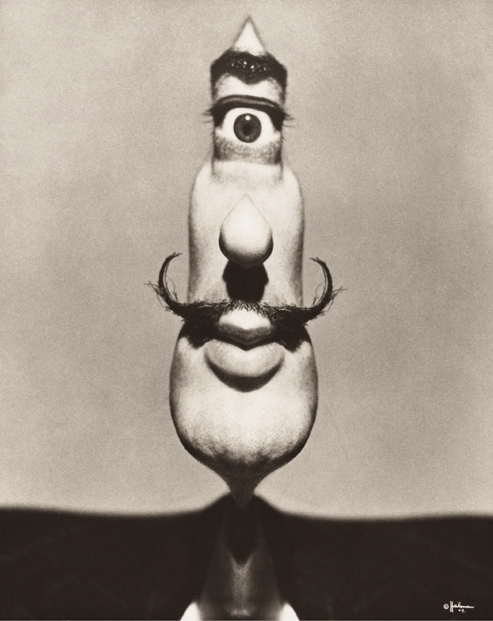 """Philippe Halsman : """"Dalí cíclope """" !949."""
