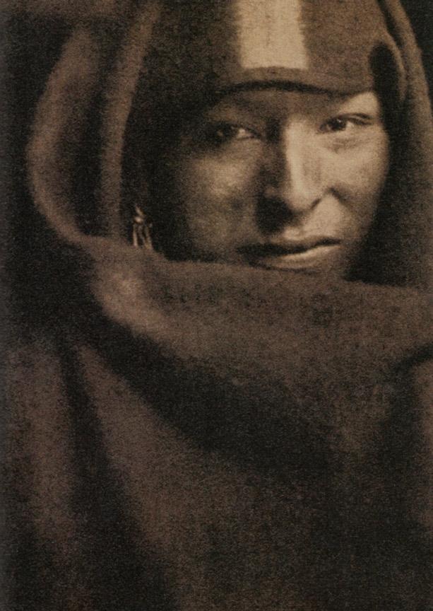 """Gertrude Kasebier: """"El hombre rojo"""" 1903."""