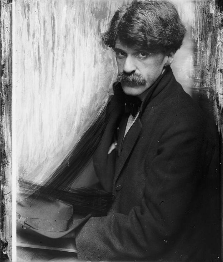 """Gertrude Kasebier: """" retrato de Alfred Steiglitz"""""""
