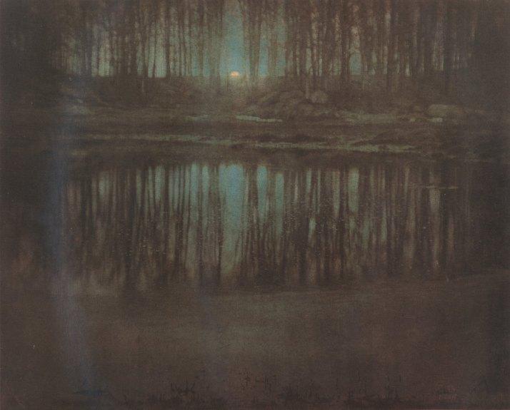 """Edward Eteichen:"""" The Pond Moonlight"""", 1905"""