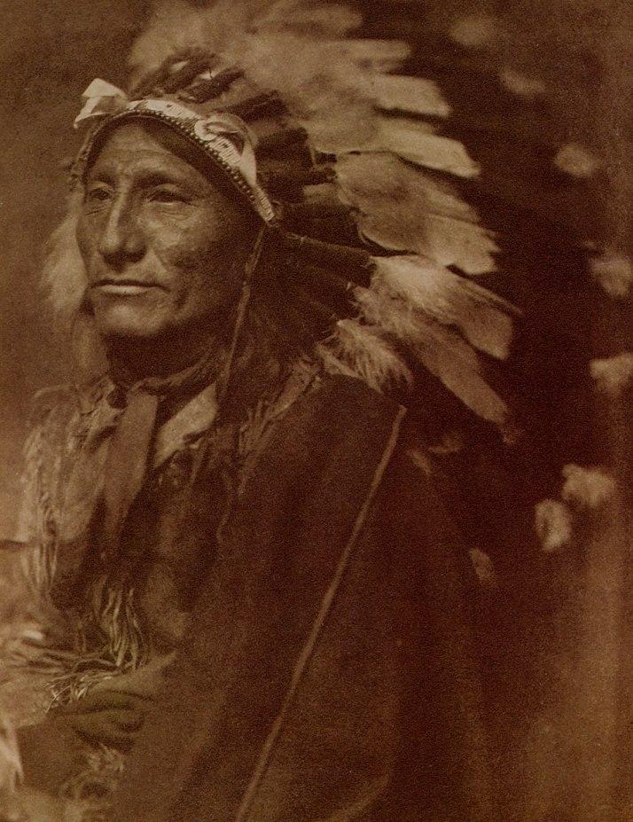 "Gertrude Kasebier: ""Jefe indio"" 1901(Jefe Wirling Horse)"