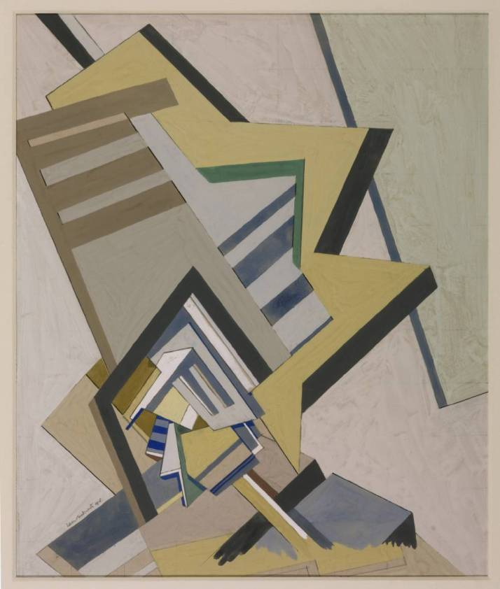 "Edward Wadsworth: ""Composición Abstracta"", 1915"