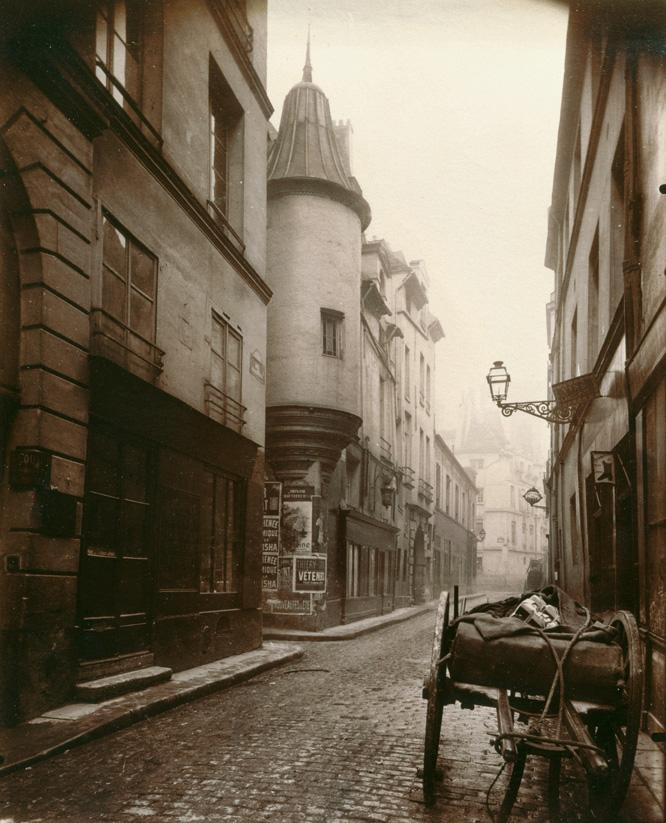 "Eugène Atget: ""Rue Hautefeuille"", 1898"