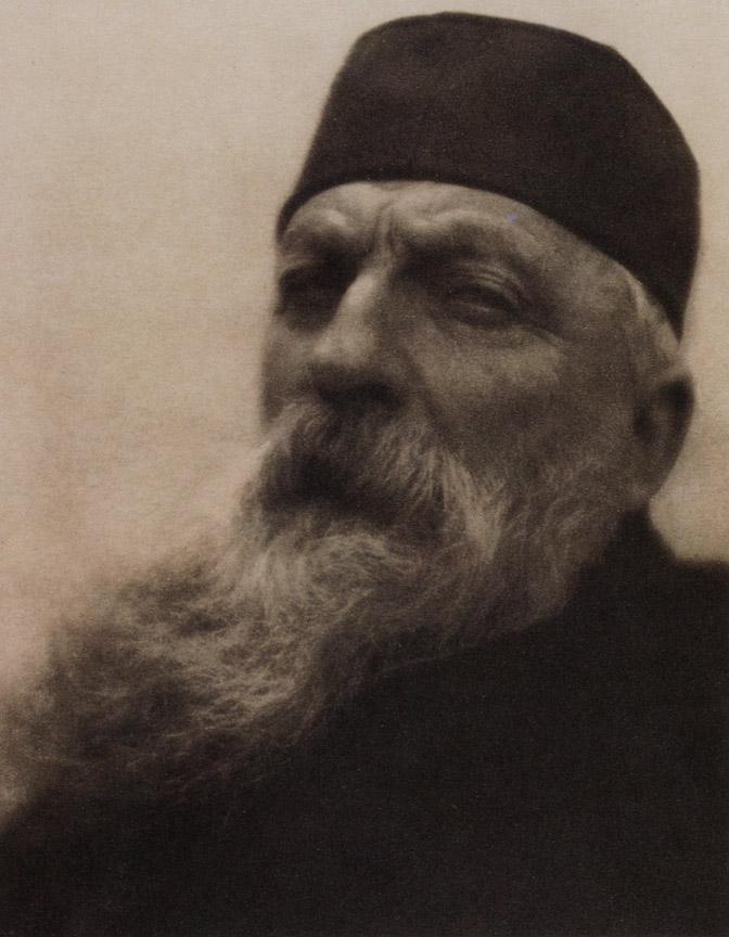 "Alvin Langdon Coburn: ""Auguste Rodin"", 1908"