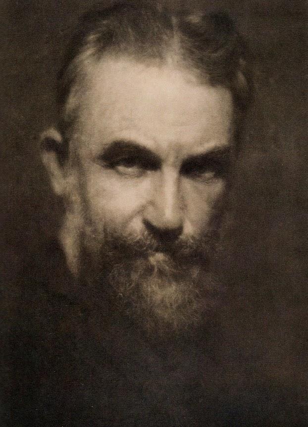 """Alvin Langdon Coburn: """"G.B. Shaw"""""""