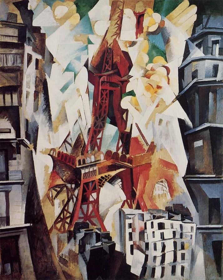"""Robert Delaunay: """"Roeee Eyffel. 1911"""