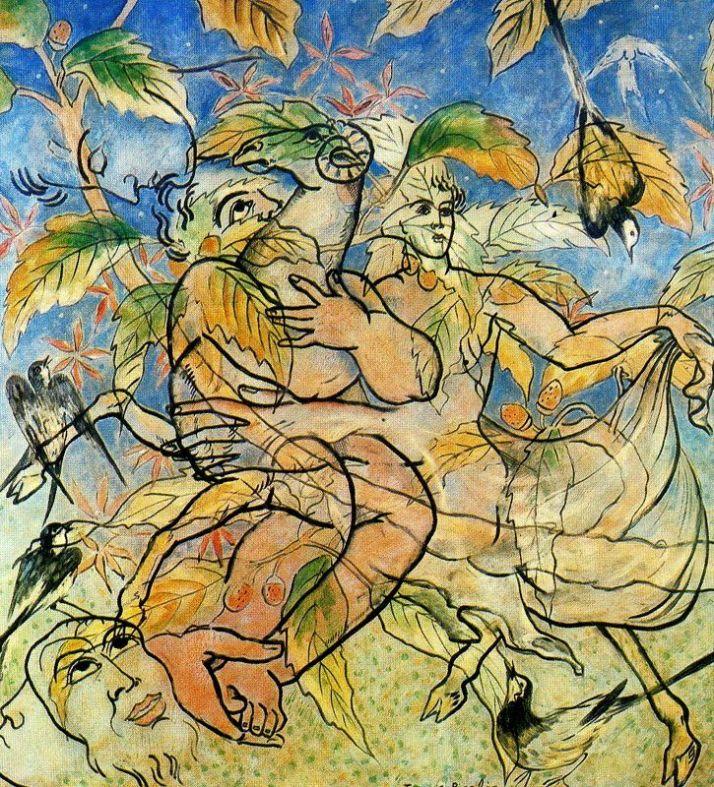 "Picabia: ""Luscunia"", 1928. öleo sobre panel, 149 x 139."