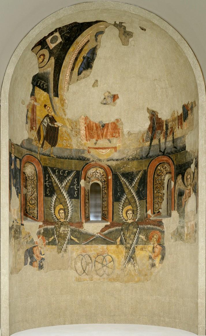 Ábside de santa María D'Aneu, MNAC. Barcelona