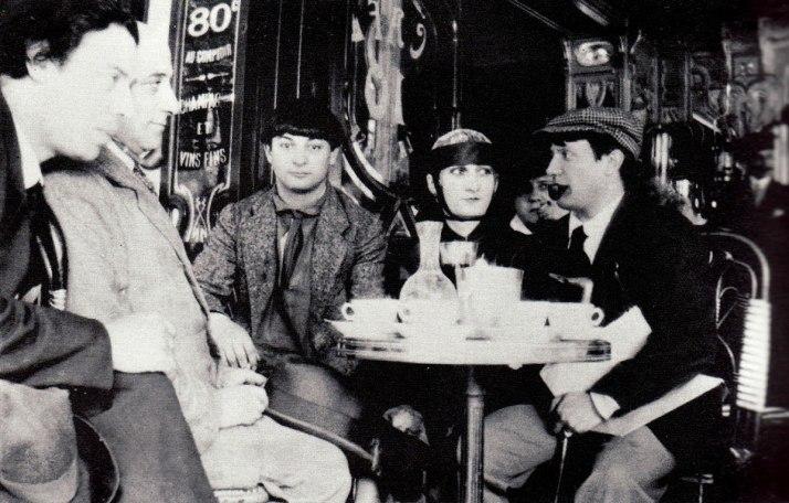 Jean Cocteau: Picasso, Pâquertte, Kisling y Max Jacob